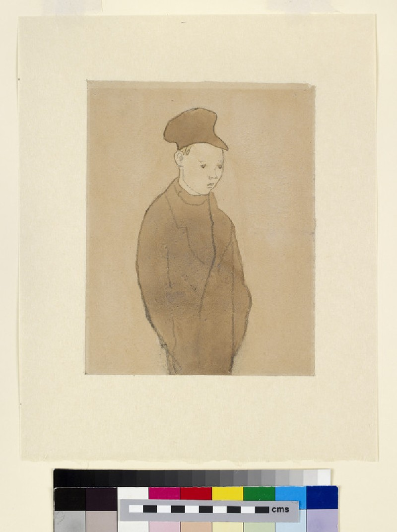 Boy with a blank expression (WA1996.29)