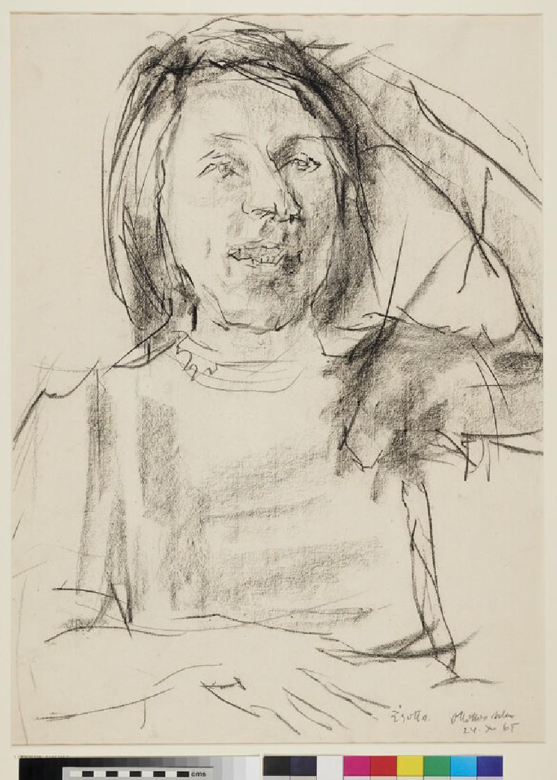 Elfrieda Fischer (WA1996.396, recto)