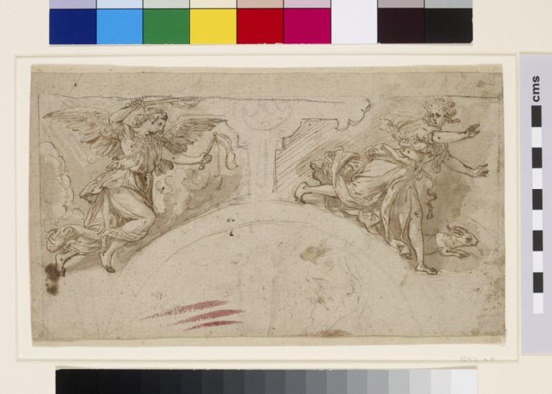 Punitio and Timor: Study for two Spandrels