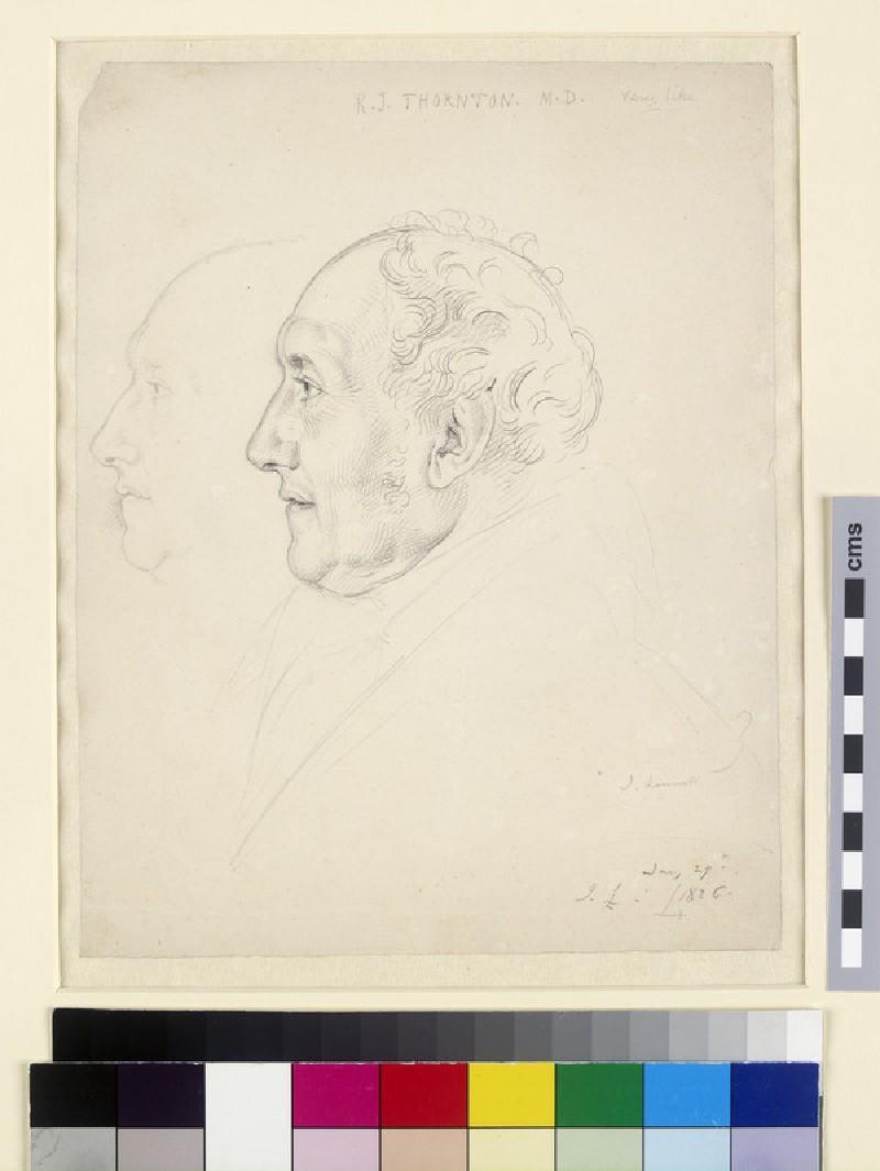 Portrait of Dr Robert Thornton