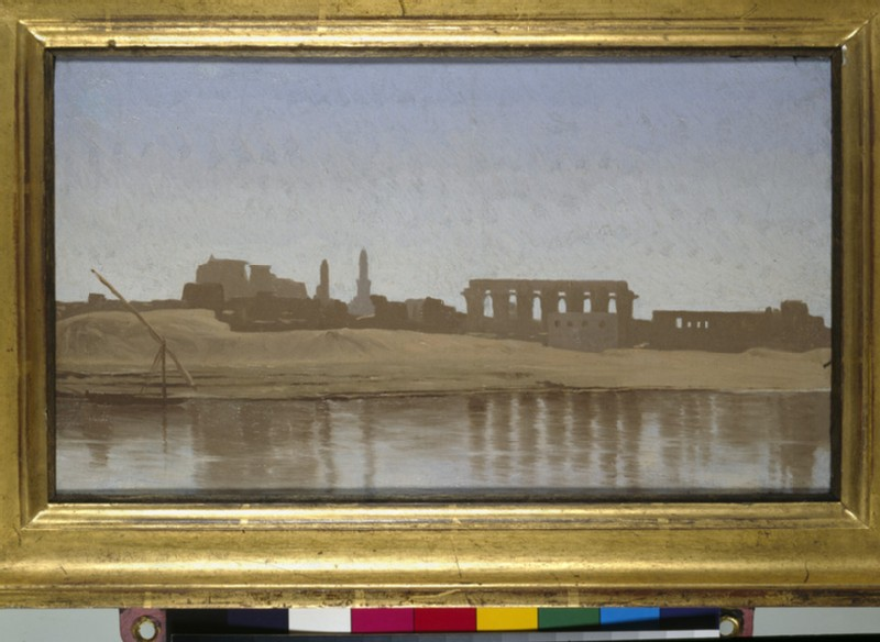 View of the Nile at Luxor (WA2001.45)