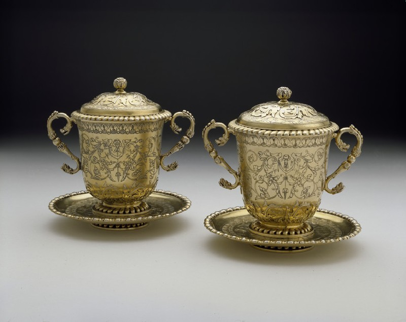 Cup and cover, one of a pair (WA2001.48.1)