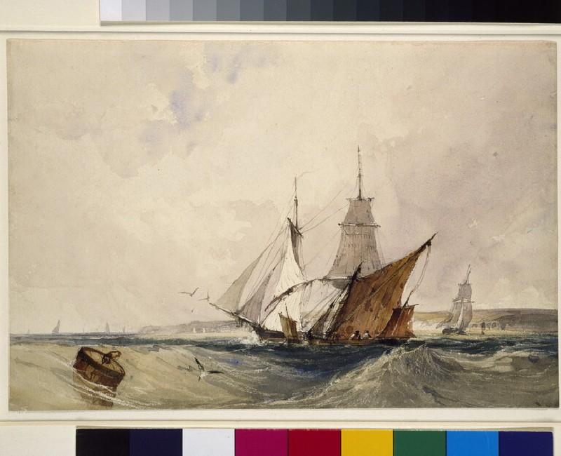 Shipping off the Kent Coast (WA2002.20)