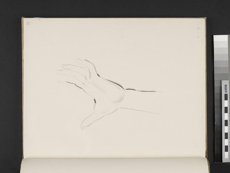 Study of a hand (WA2003.197.13)