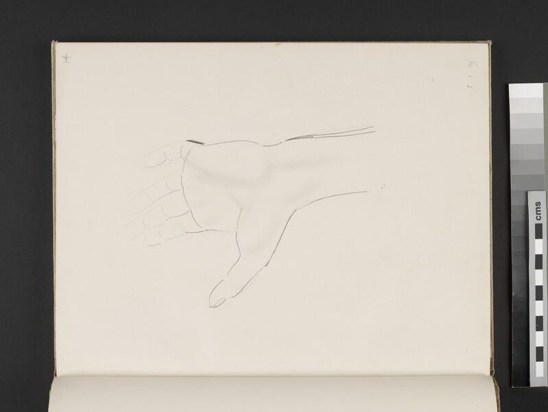 Study of a hand (WA2003.197.14)