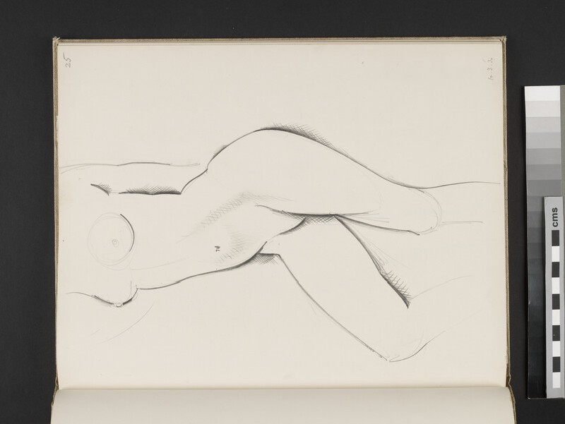 Standing female nude (WA2003.197.25)