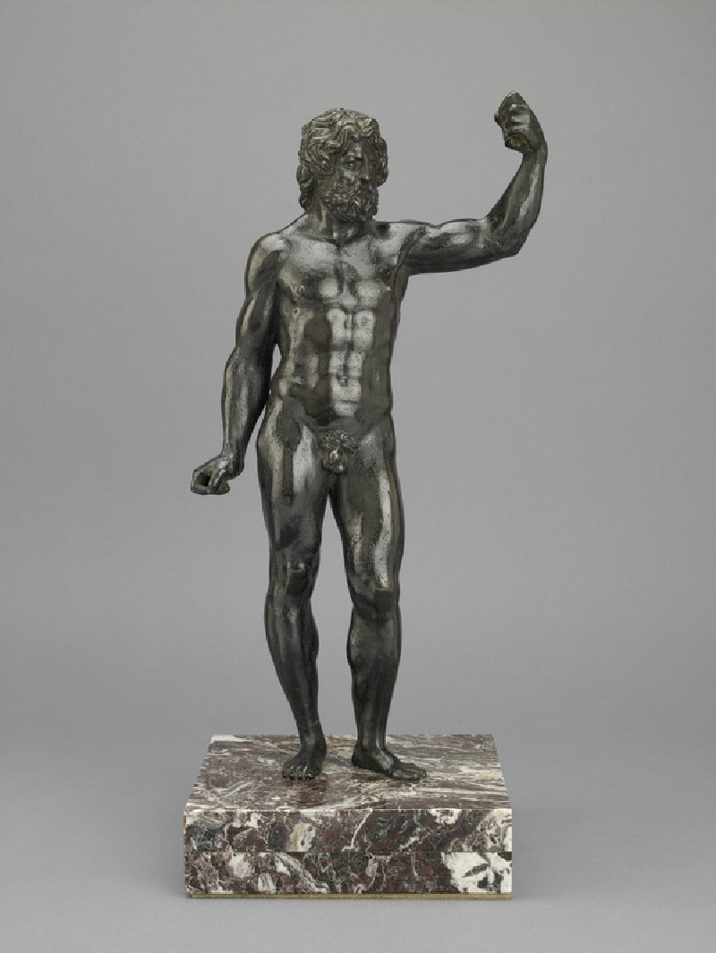 Male figure (Jupiter or Neptune)