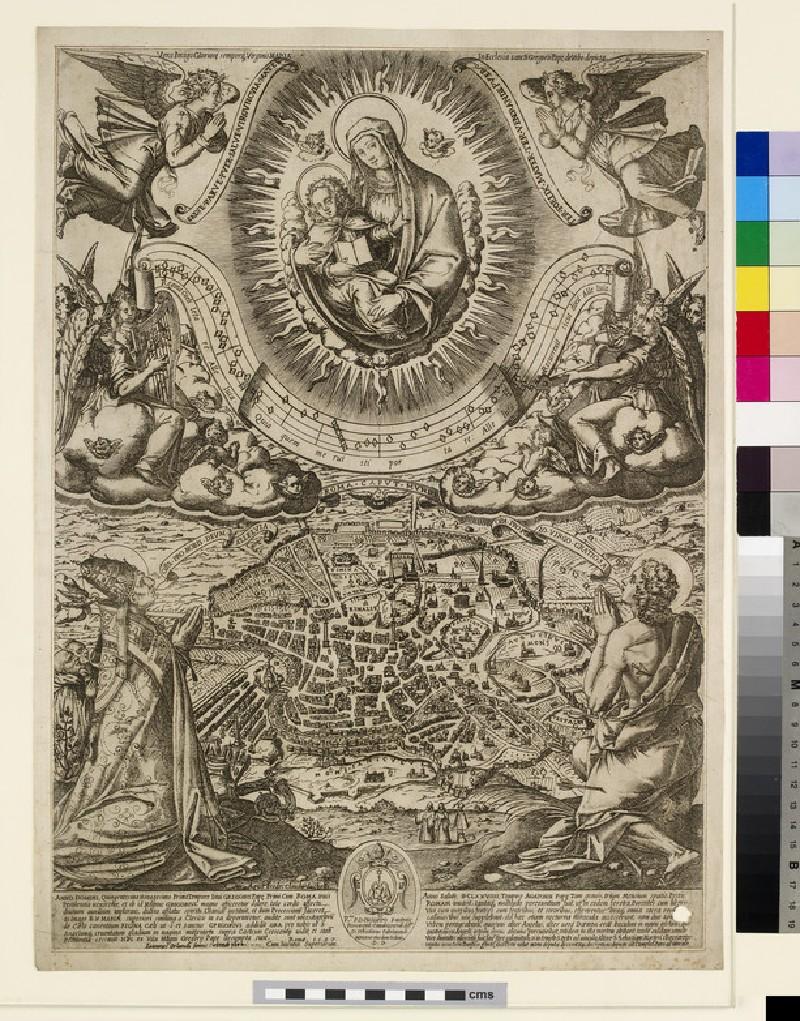 Vera imago gloriose semperaque Virginis Mariae (WA2003.Douce.1269)