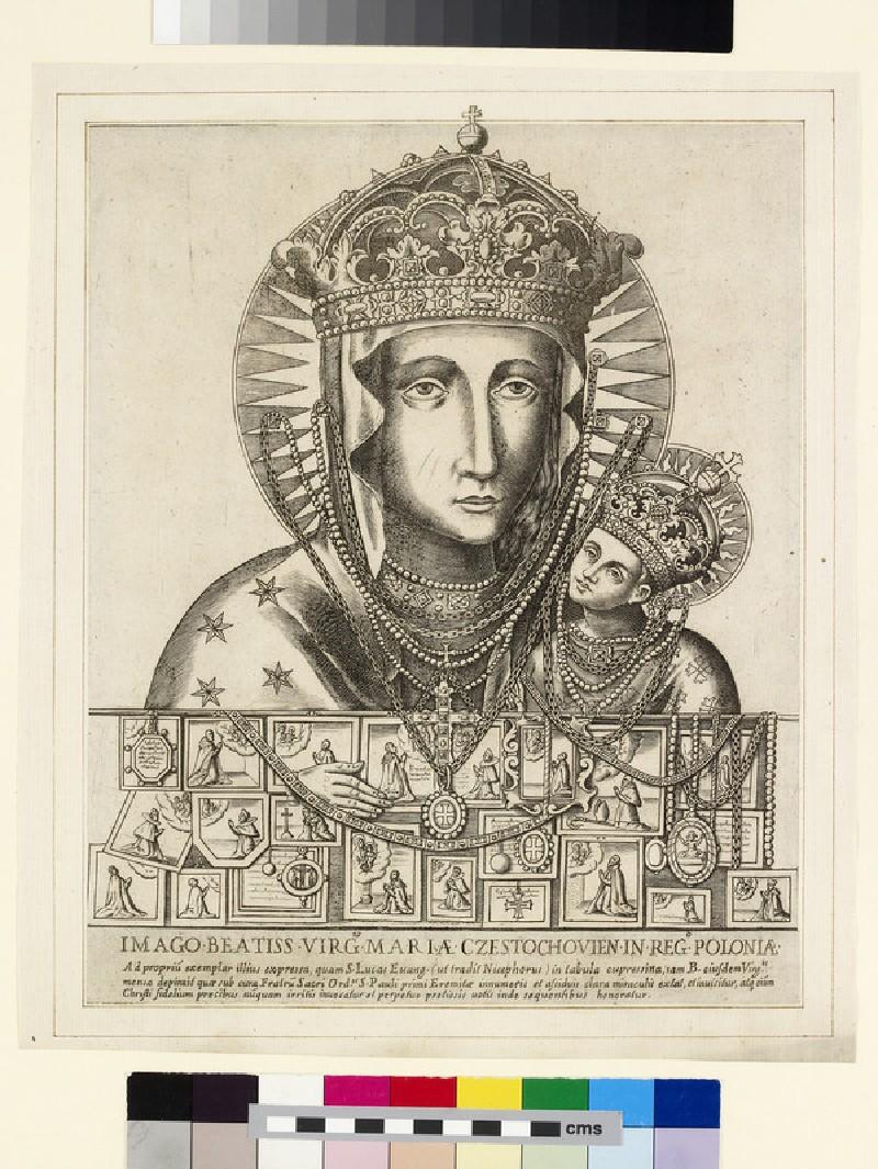Imago Beatiss Virg Maria Czestochovien in Reg Poloniae (WA2003.Douce.1273)