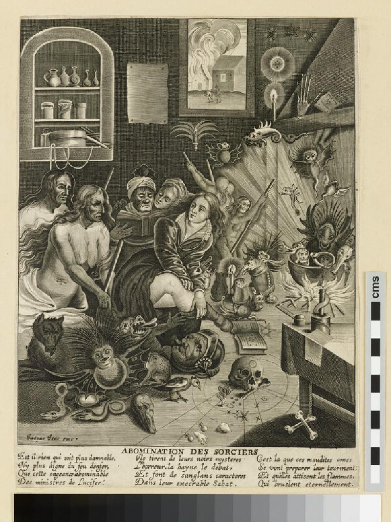 Abomination des sorciers (WA2003.Douce.1828)