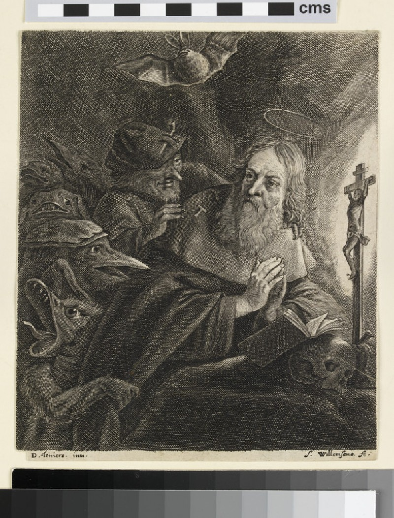 The Temptation of Saint Anthony (WA2003.Douce.1858)