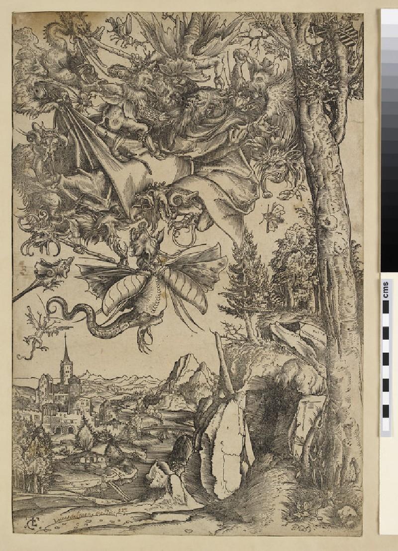 The Temptation of Saint Anthony (WA2003.Douce.1894)
