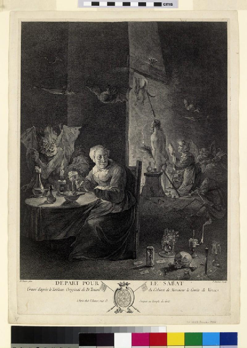 Départ pour le Sabat (WA2003.Douce.1956)