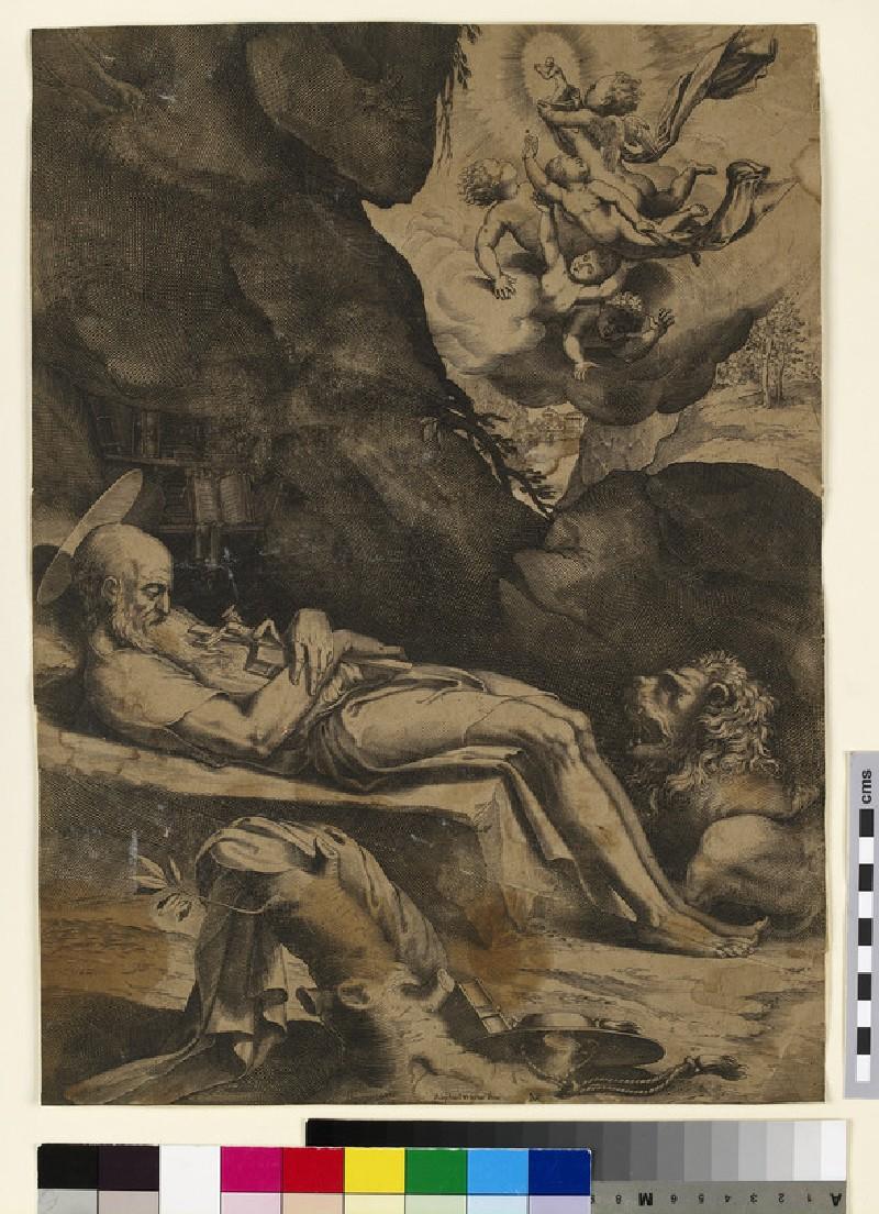Death of St Jerome (WA2003.Douce.3045)