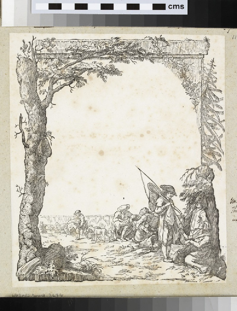 Design for title-page (WA2003.Douce.3674)