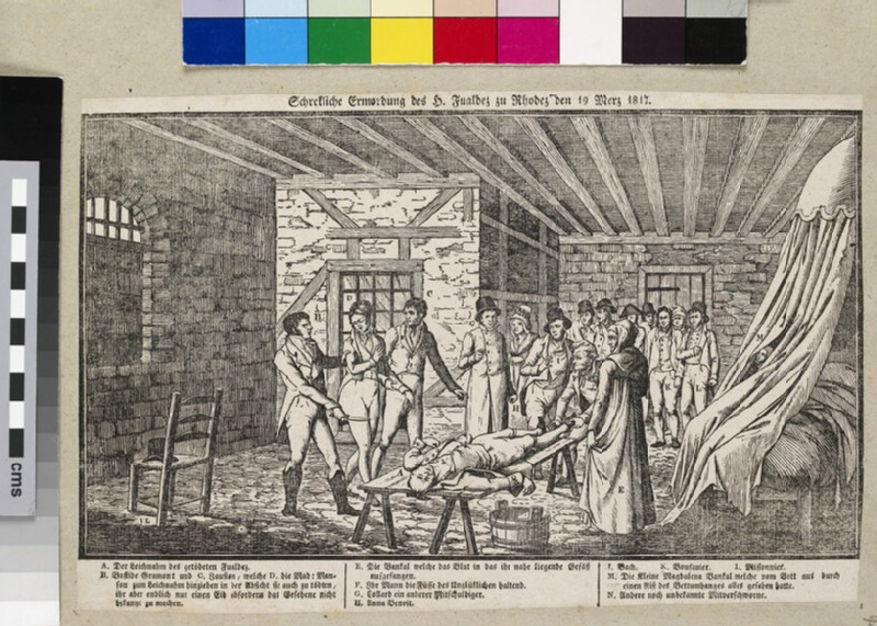 Reconstruction of the murder of the magistrate Antoine Bernardin Fualdès