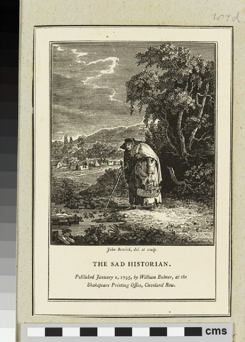 The Sad Historian (WA2003.Douce.4189)