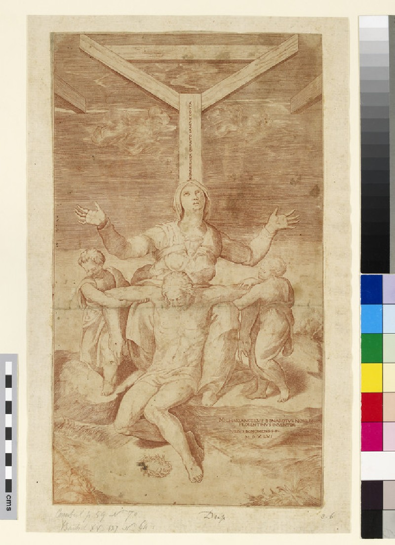 The Lamentation at the Foot of the Cross (WA2003.Douce.4579)