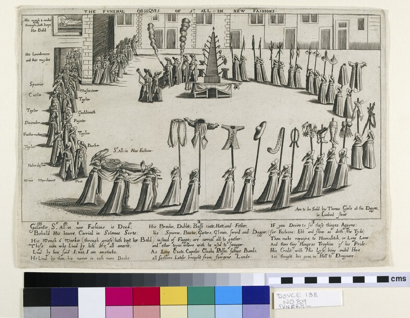 The Funeral Obsequies of Sir All in New Fashions