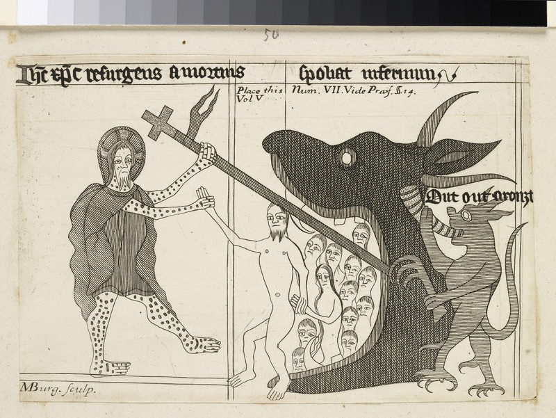 Christ Enters Hell (WA2003.Douce.5196)