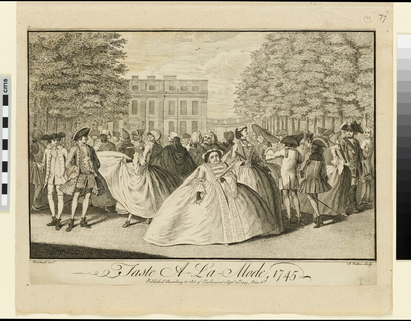 Taste A-la-Mode, 1745
