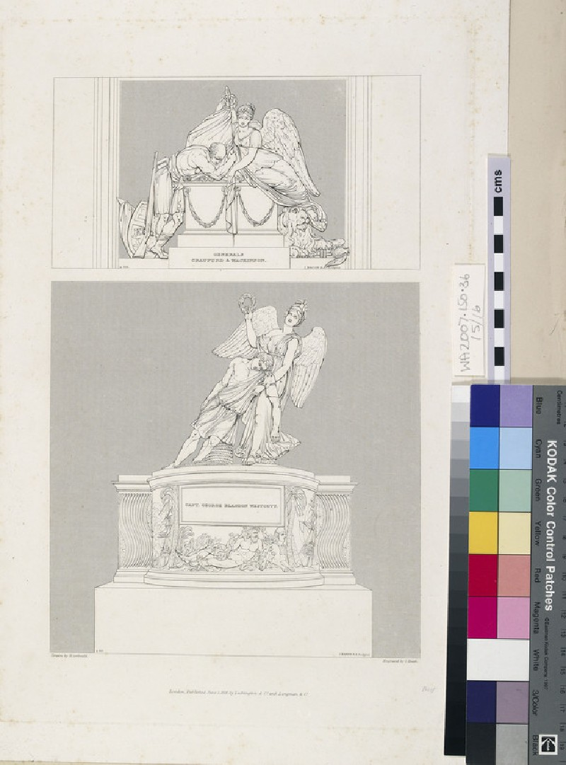Monuments to General Craufurd and General Mackinnon, and Captain George Blagdon Westcott (WA2007.150.36)