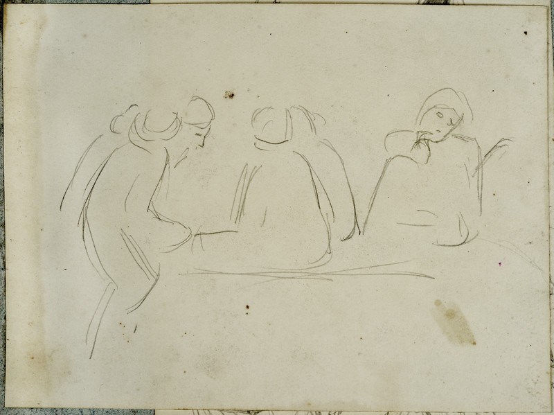 Study of Four Eastern Figures
