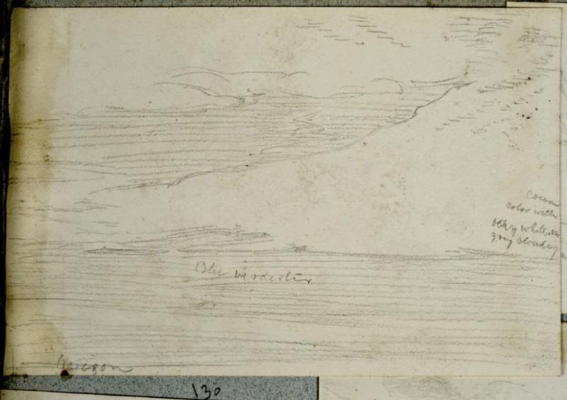 Study of Mountains, Sea and Sky (WA2007.6.117)