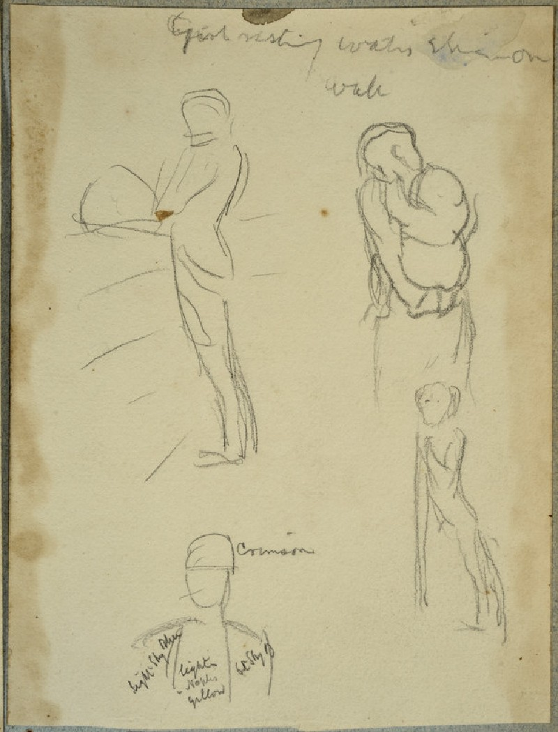 Four Figure Studies (WA2007.6.12)