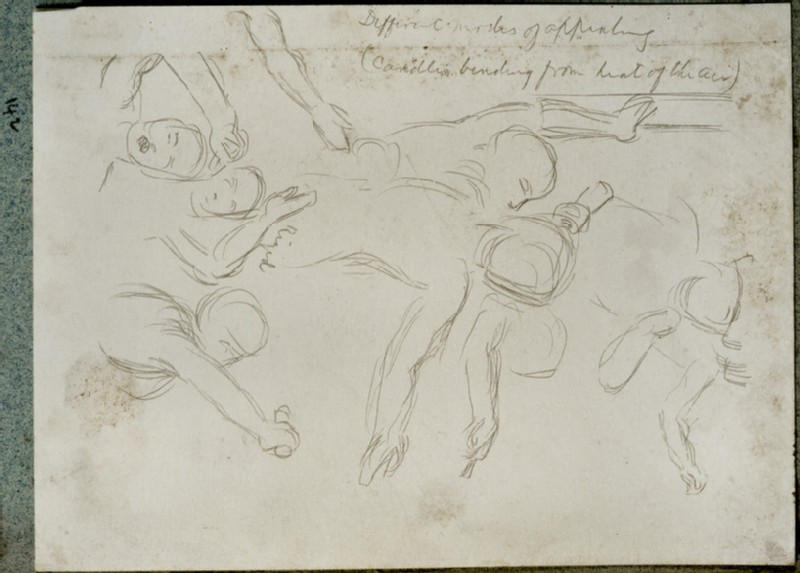 Studies of Figures for 'The Miracle of Sacred Fire in the Church of the Sepulchre, Jerusalem'