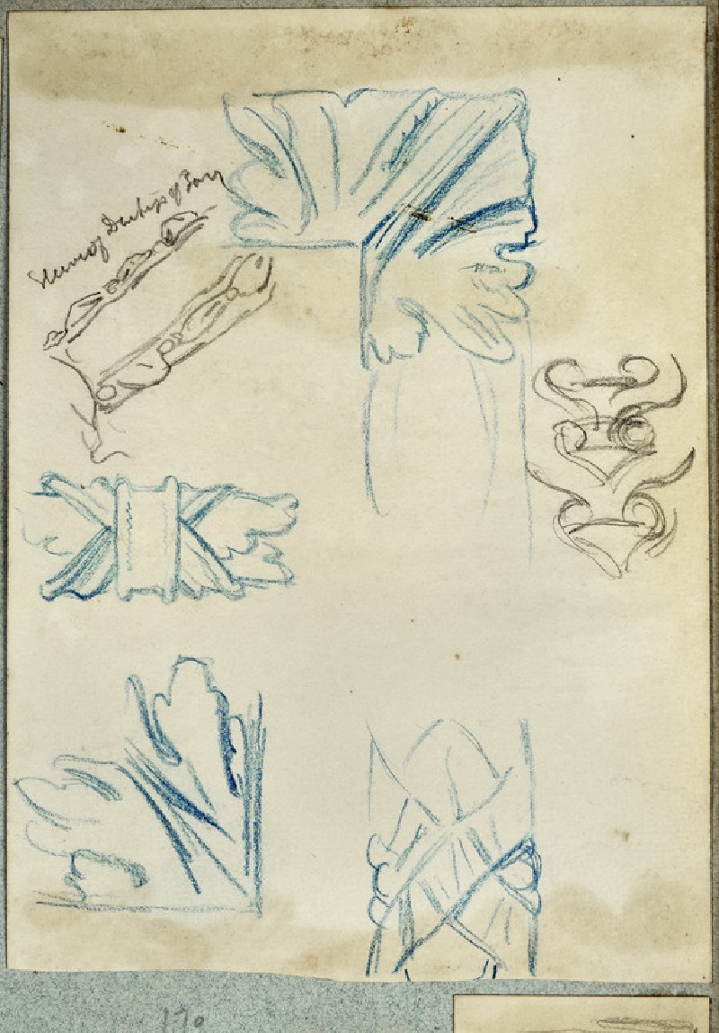 Five Details of Frames and a Study of a Sleeve