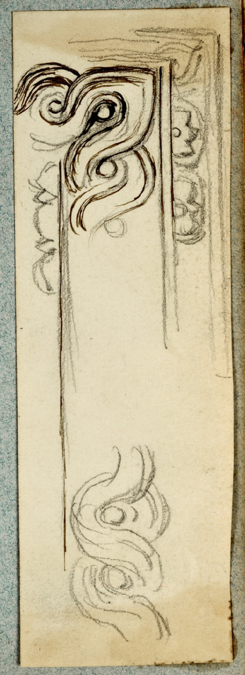 Design for a Frame with a Guilloche Frieze (WA2007.6.167)