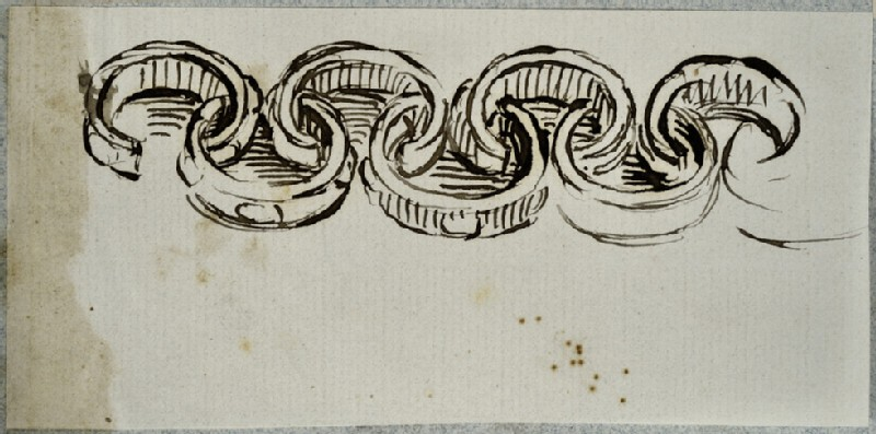 Study of Bangles forming a Frieze Design (WA2007.6.171)