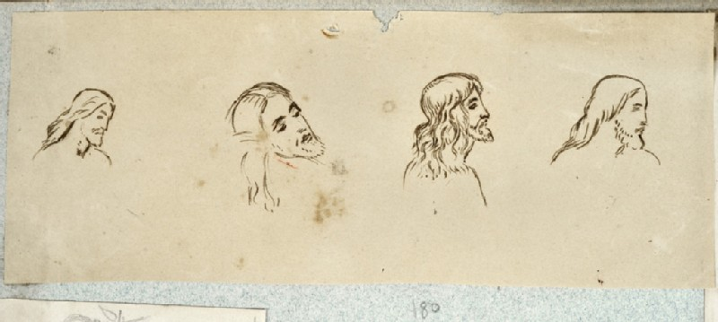 Four Studies for the Head of Christ (WA2007.6.176)
