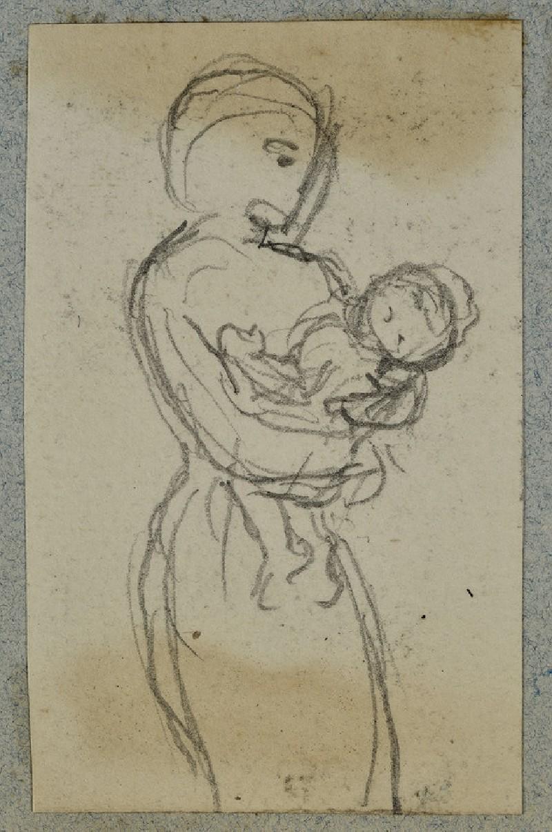 Woman holding a Baby (WA2007.6.23)