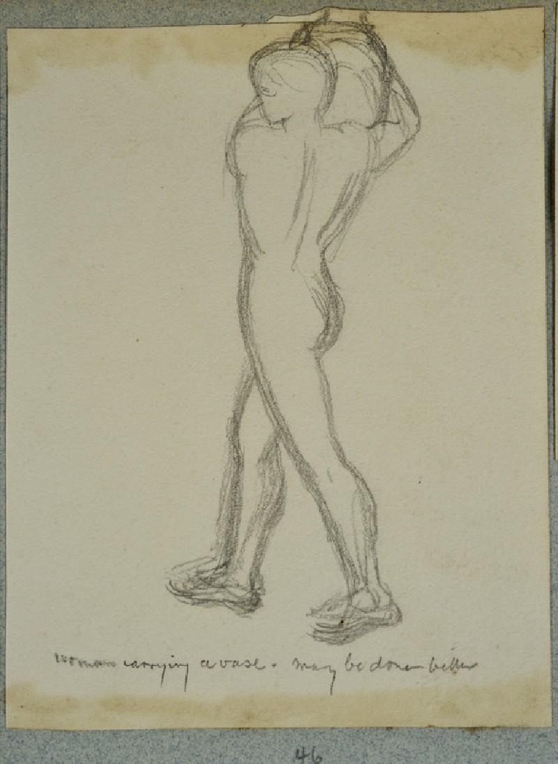 Nude in Contrapposto Pose (WA2007.6.47)