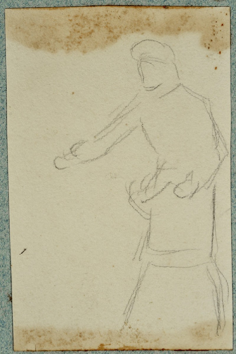 Male Figure with Arms outstretched