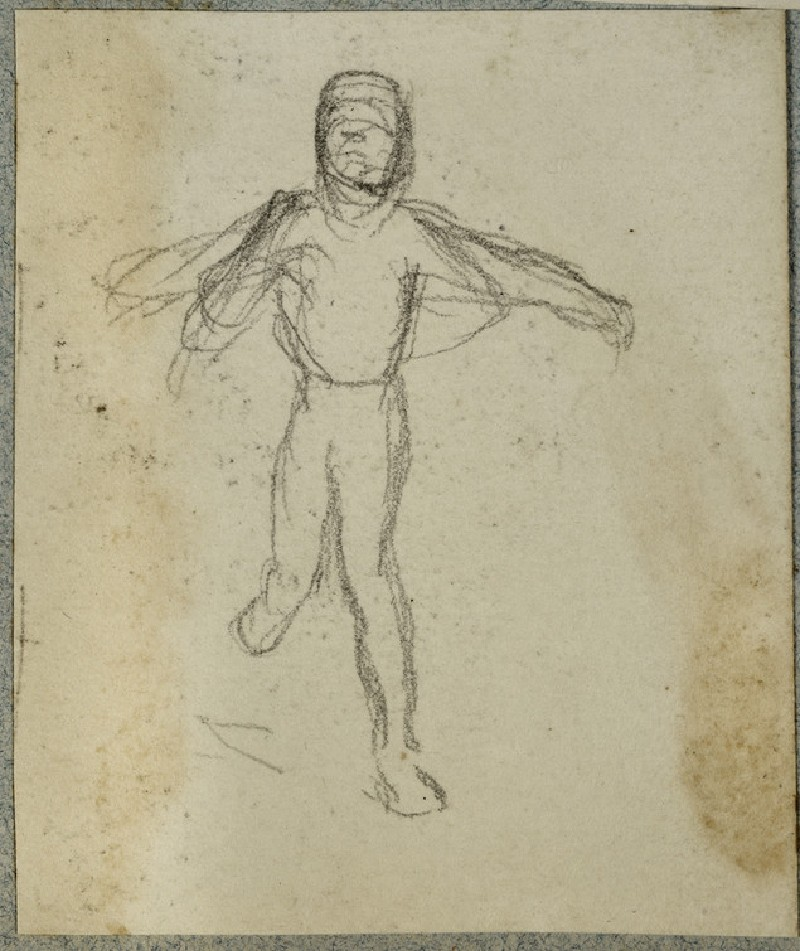 Study of a Child running, Arm outstretched (WA2007.6.65)
