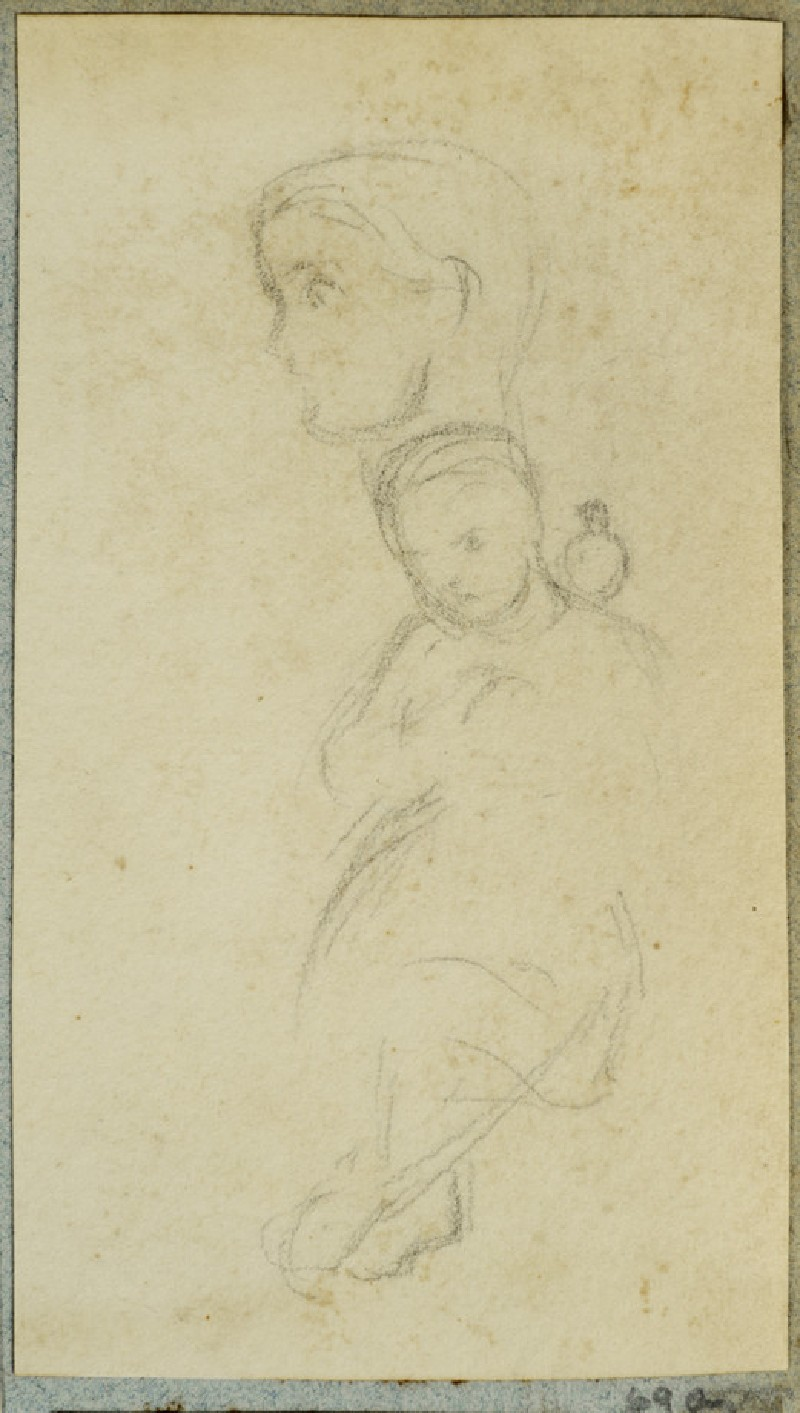 Seated Child with a Dove on her Shoulder (WA2007.6.69)