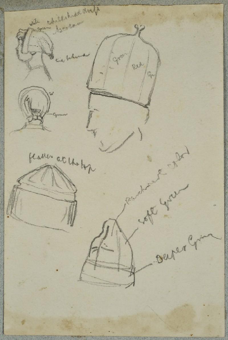 Studies of Head-dresses