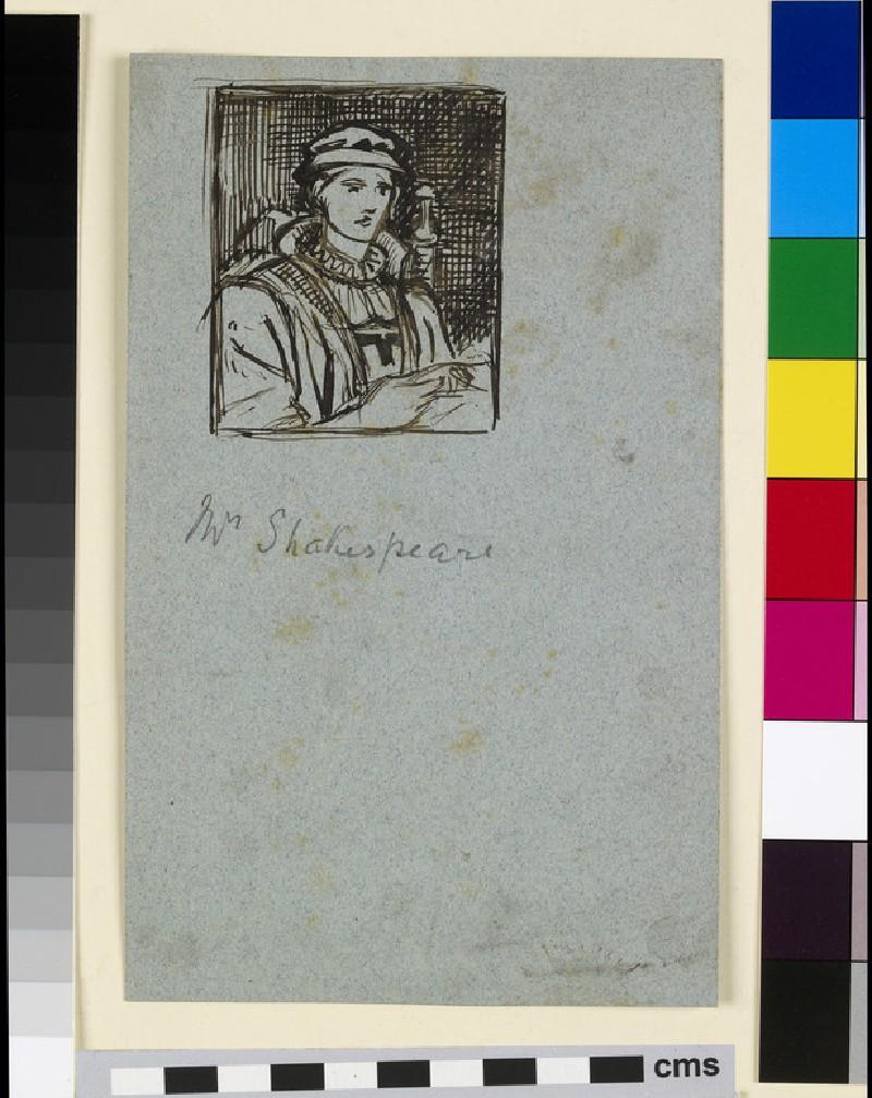 Study for 'Mrs Shakespere' (WA2007.7.108)