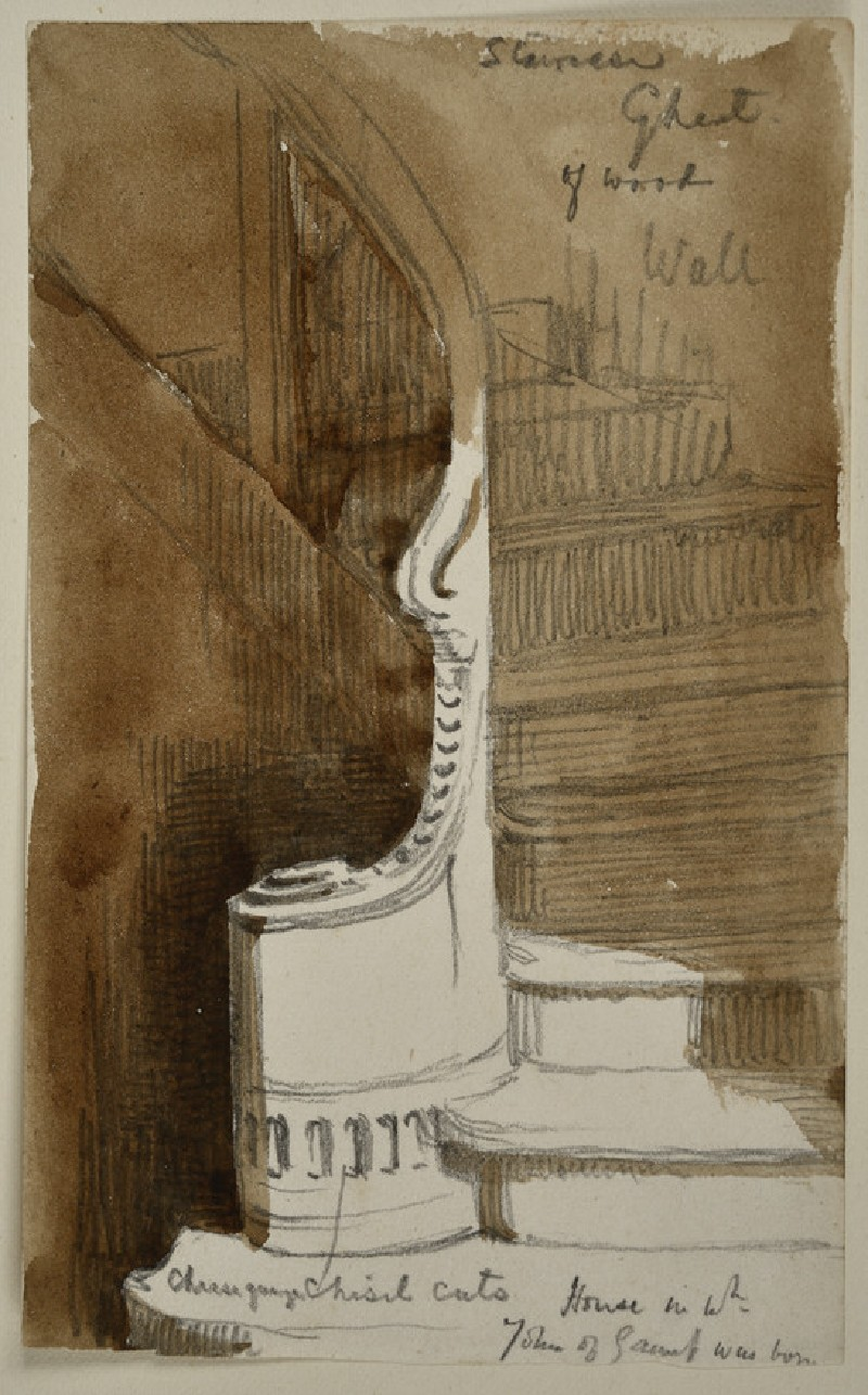 Study of a Staircase at Ghent