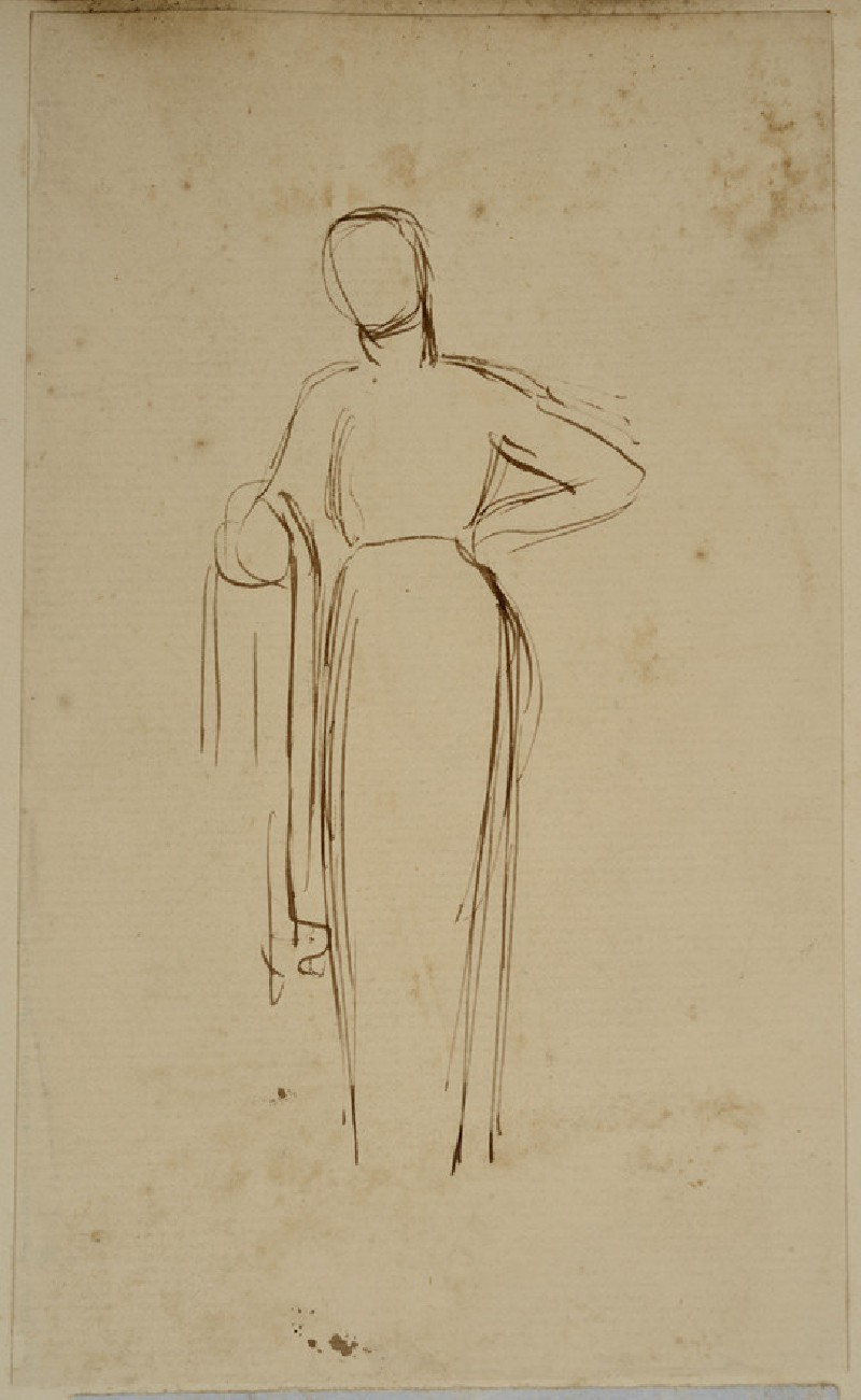 Study of a standing female Figure (WA2007.7.13)