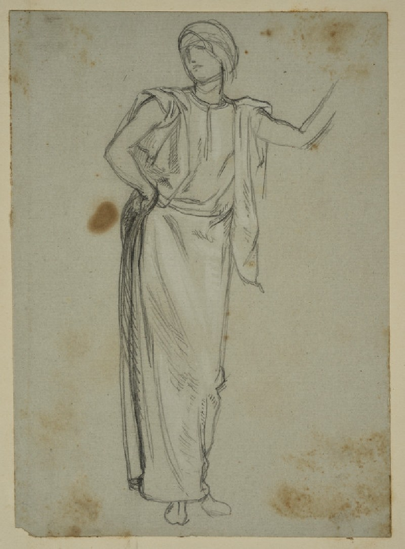 Study of a Woman in Middle Eastern Dress