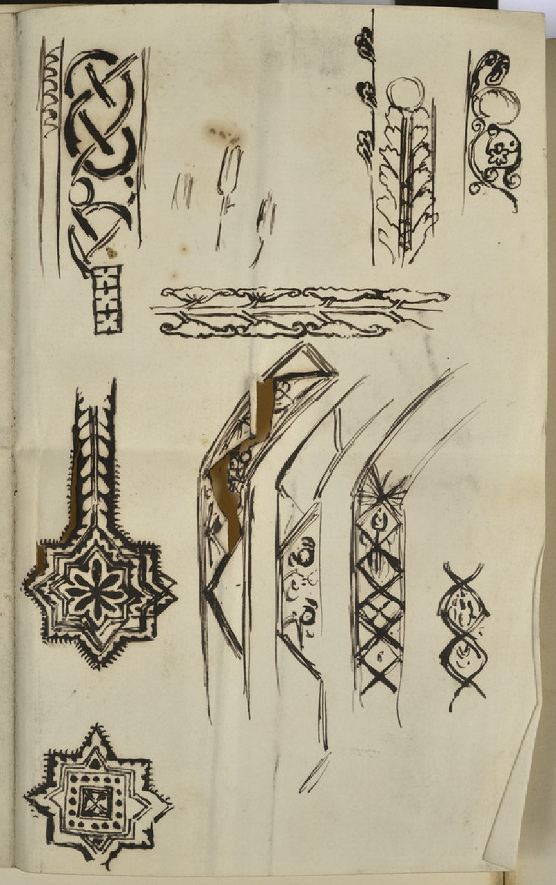 Studies of Decoration for Frames