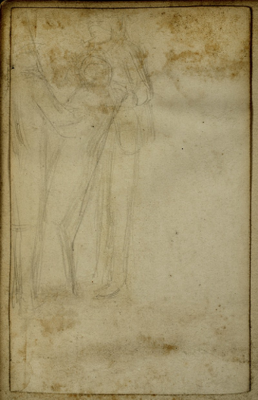 Study of a fainting Female Figure