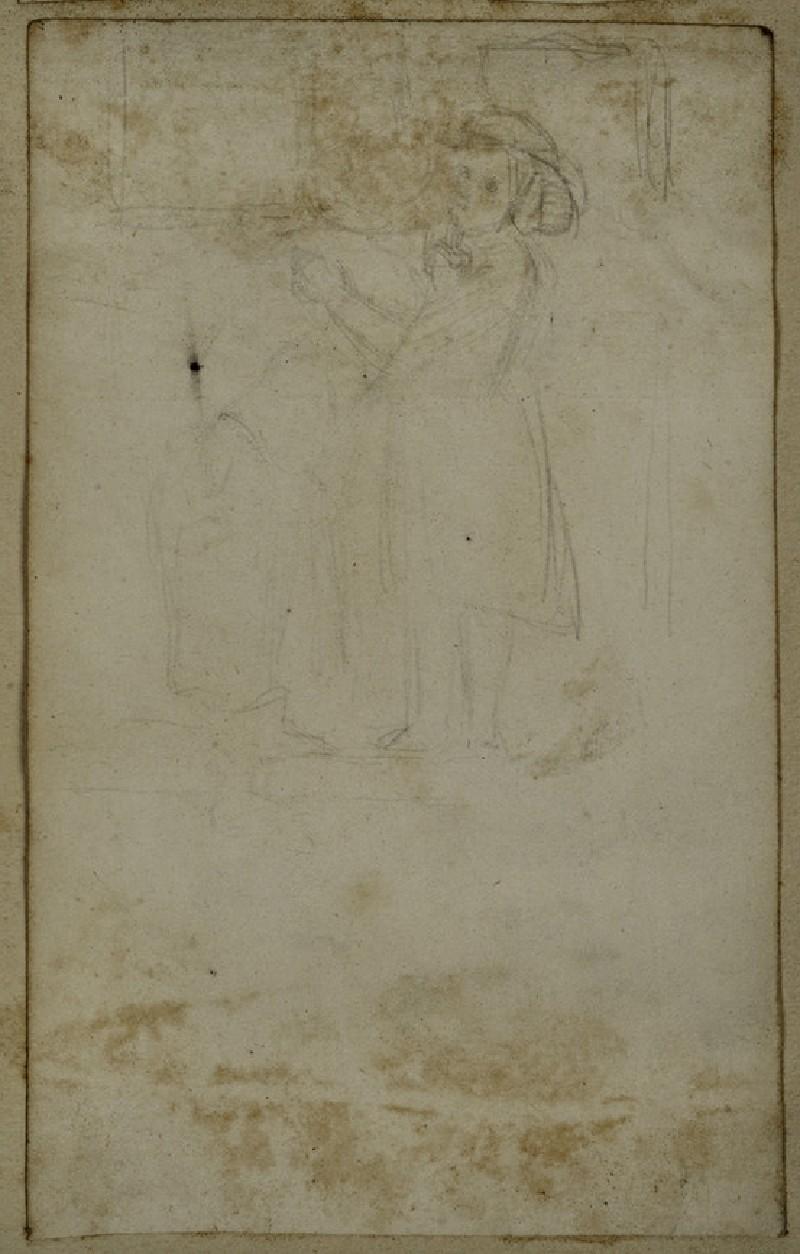 Study of Two Girls embracing (WA2007.7.66)