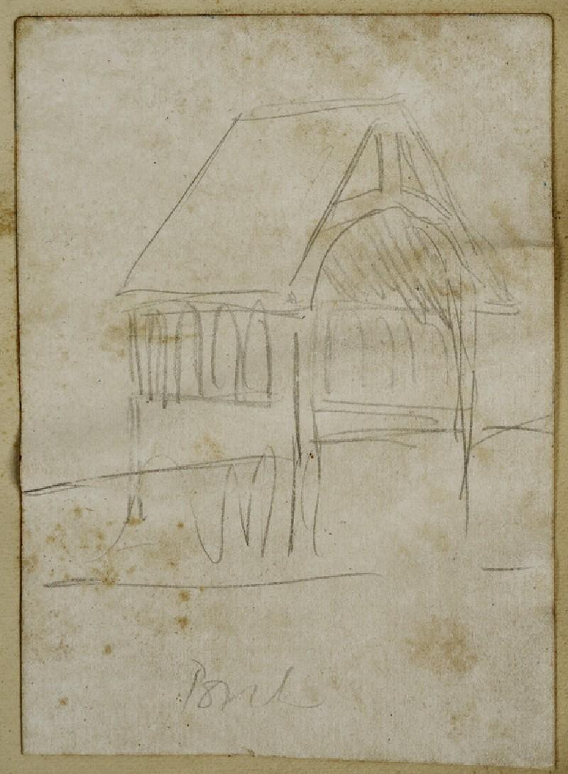 Study of a Porch (WA2007.7.75)