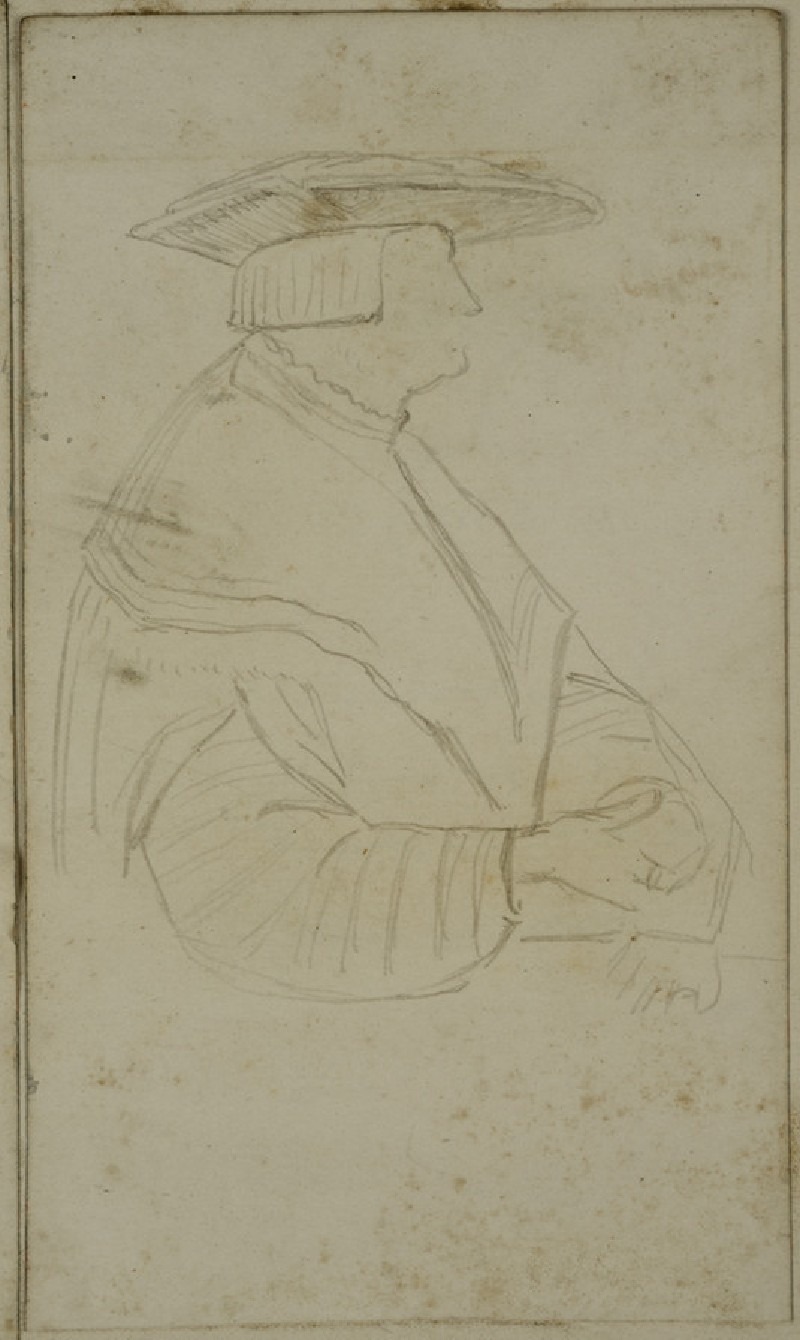 Study of a Tudor Figure
