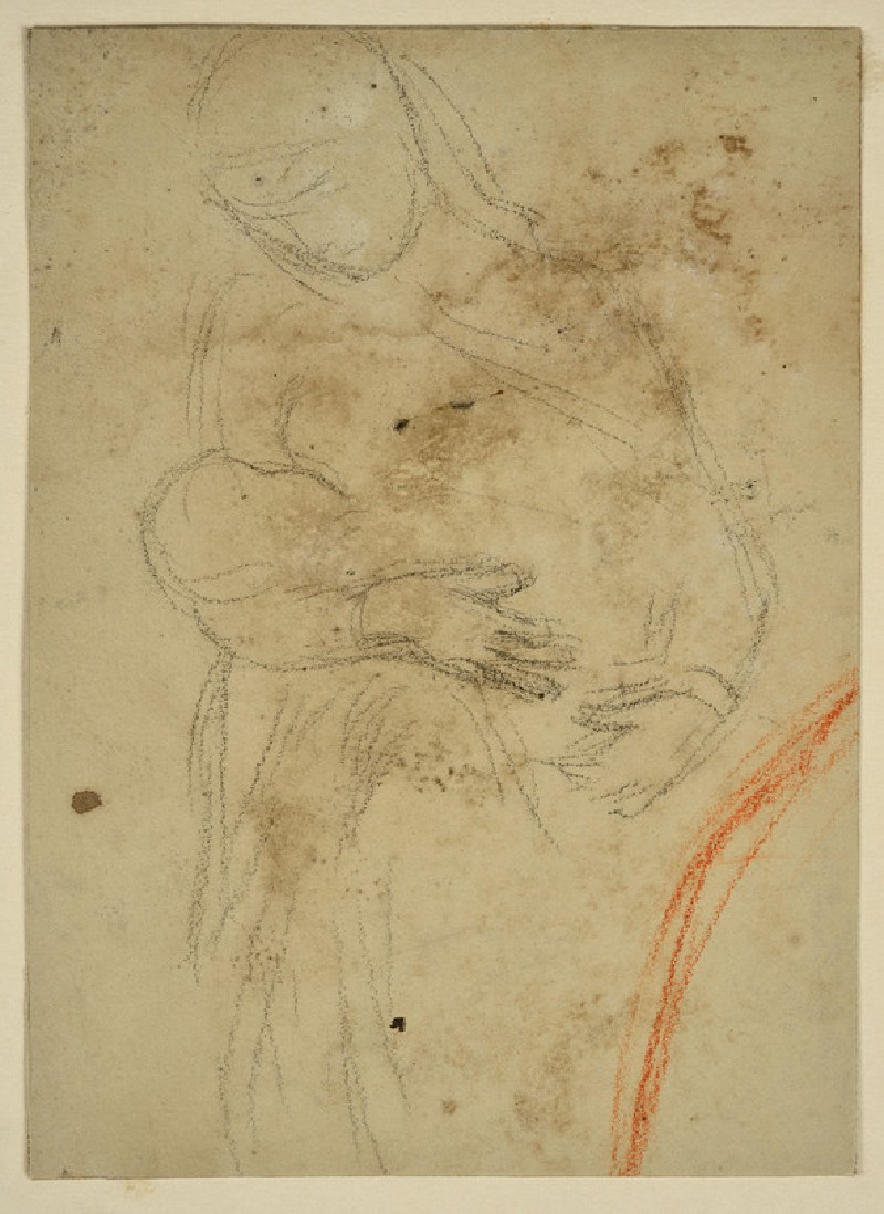Study of an Arab Woman suckling a Baby